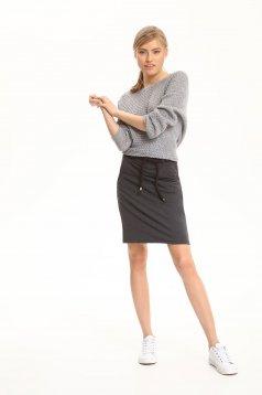Top Secret S029597 DarkGrey Skirt