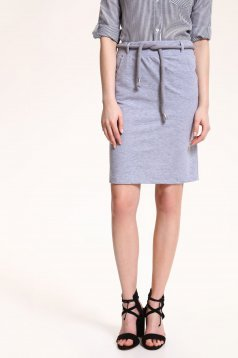 Top Secret S029597 LightGrey Skirt