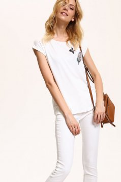 Top Secret S029599 White Top Shirt