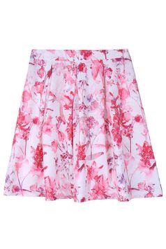 Top Secret S029612 White Skirt