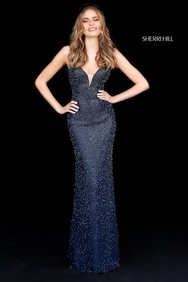 Sherri Hill 50860 DarkBlue Dress