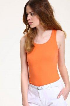Top Secret S029836 Orange Top Shirt