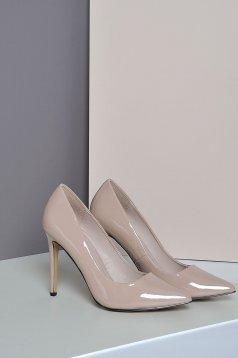 Top Secret rosa slightly pointed toe tip shoes high heels