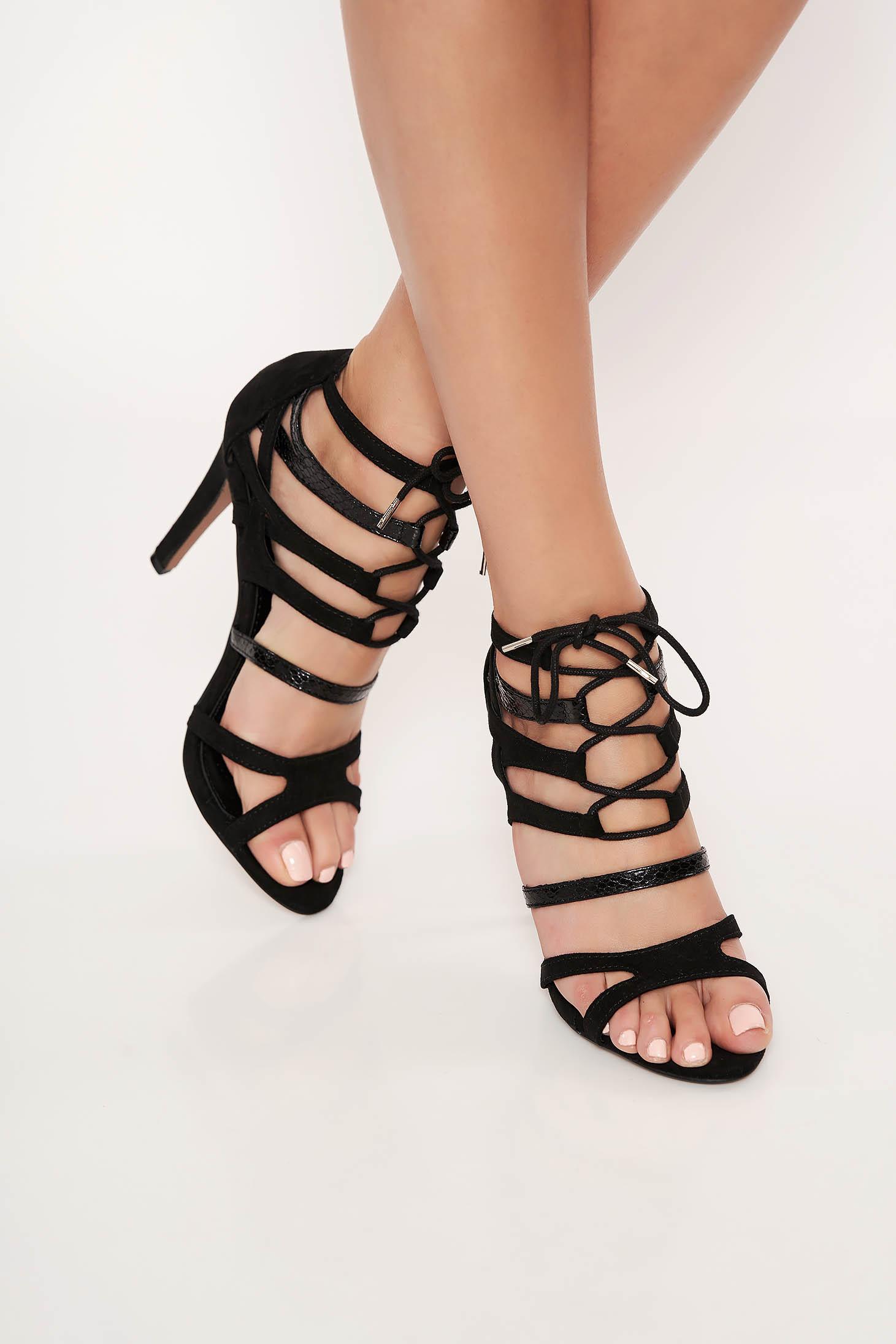 Sandale Top Secret negre