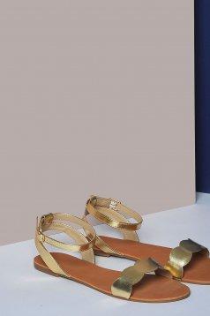 Top Secret S029870 Gold Shoes