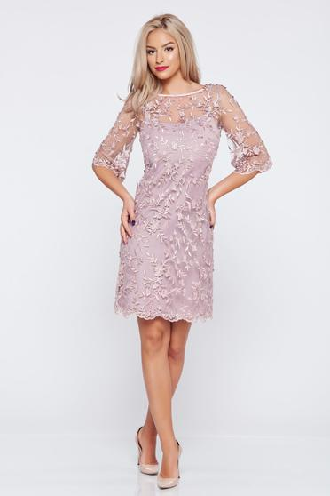 Lila LaDonna laced flared occasional dress