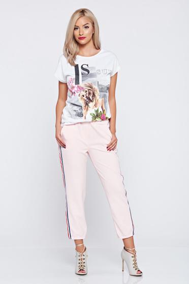 Rosa casual trousers elastic waist