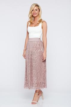 Rosa casual cloche laced skirt