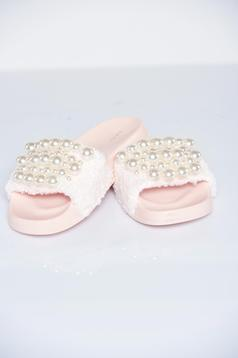 Rosa light sole slippers fluffy fabric