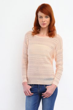 Top Secret S026815 Orange Sweater