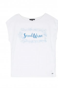 Top Secret S030403 White T-Shirt