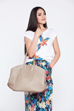 Top Secret darkgreen casual bag with medium handles