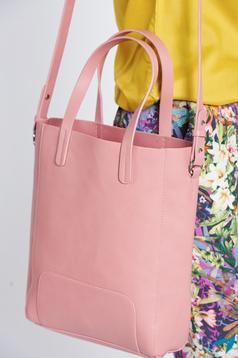 Top Secret rosa casual bag with medium handles