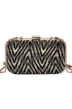 Top Secret black bag with detachable chain