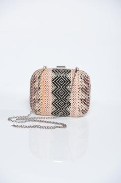 Top Secret grey bag with detachable chain