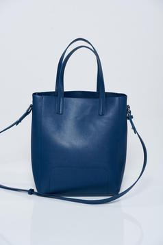 Top Secret darkblue casual bag with medium handles