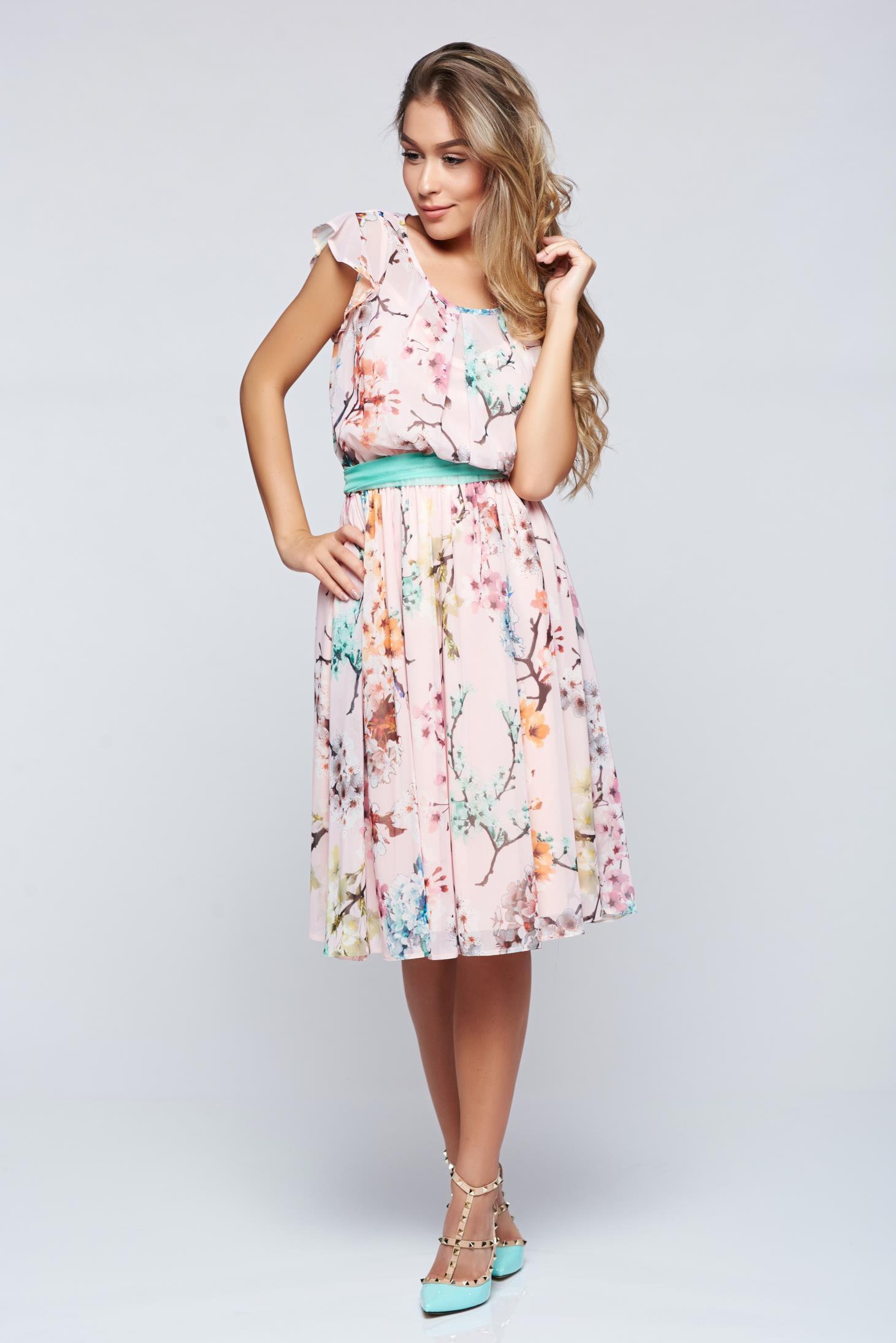 34bfc10623 Rózsaszínű LaDonna bő szabású ruha lenge anyagból