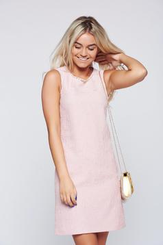 LaDonna rosa cotton sleeveless dress
