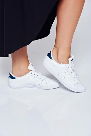 Adidas originals casual light sole white sneakers