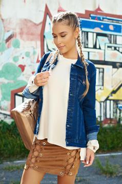 Top Secret blue casual cotton jacket