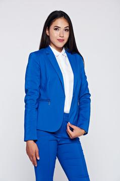 Top Secret blue office tented cotton jacket