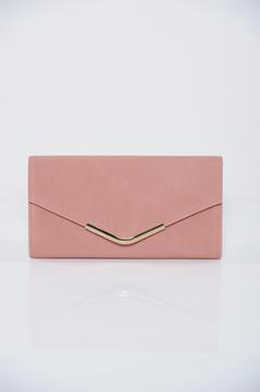 Rosa clutch bag metalic accessory