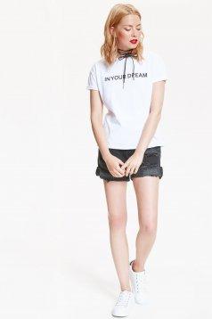 Top Secret S031442 White T-Shirt
