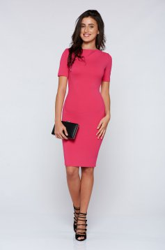 StarShinerS pink dress elegant pencil
