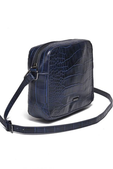 Top Secret darkblue casual ecological leather bag