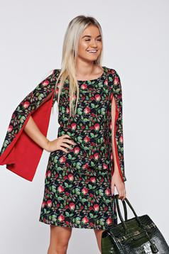 LaDonna easy cut red elegant dress