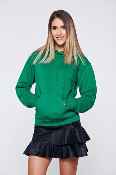 Top Secret cotton green casual coat