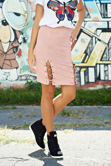 Rosa casual velour skirt elastic waist