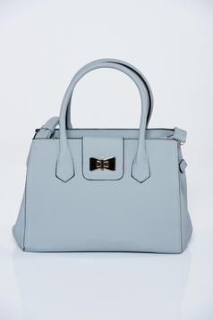Grey bag office a compartment with internal pockets