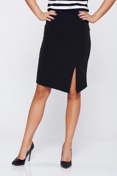 StarShinerS black office pencil skirt with medium waist