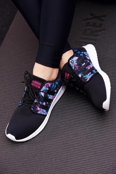 Originals Adidas black casual sneakers with lace and low heel