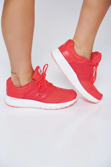 Adidas coral casual low heel sneakers with lace