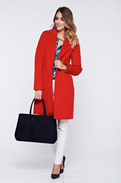 Top Secret red basic inside lining coat