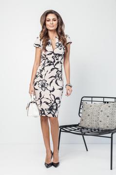 PrettyGirl rosa elegant pencil dress with pockets