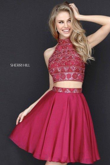 Sherri Hill 51297 Black Dress