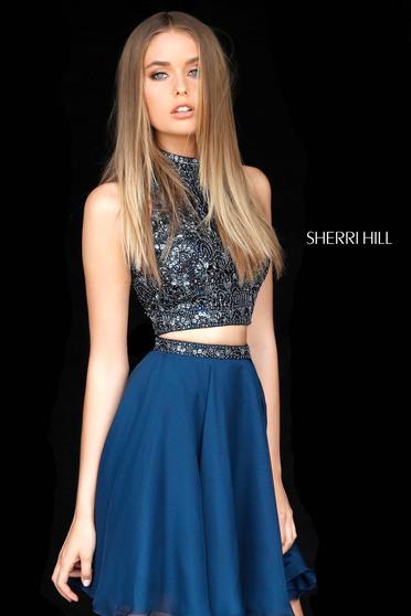 Sherri Hill 51296 Black Dress