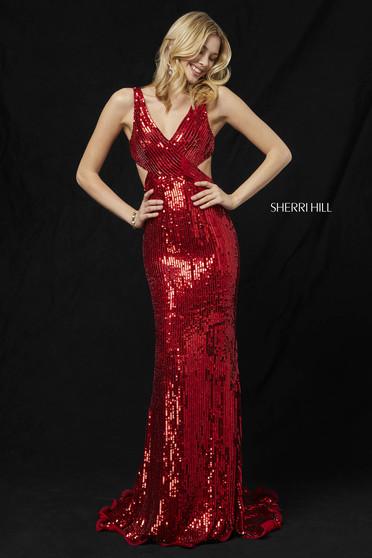Sherri Hill 51364 Red Dress