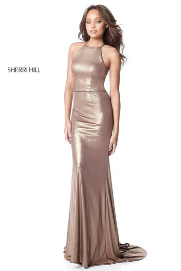 Sherri Hill 51428 Gold Dress