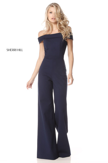 Sherri Hill 51433 Black Dress
