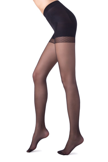 Modeller 20 den black women`s tights runstop