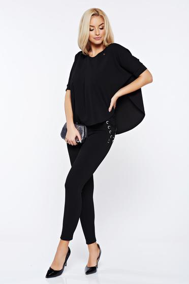 MissQ black set from 2 pieces with trousers with laced details