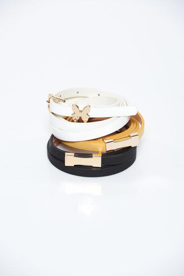 StarShinerS black belt metallic buckle
