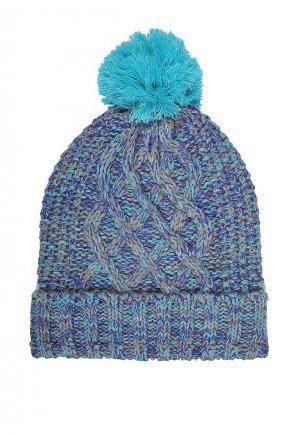 Top Secret turquoise caps & hats knitted fabric