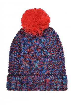 Top Secret blue caps & hats knitted fabric