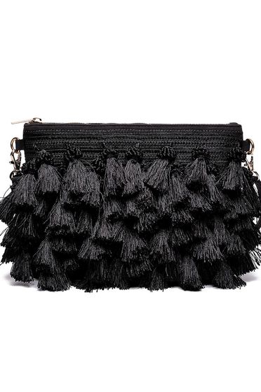Top Secret black bag casual fringes