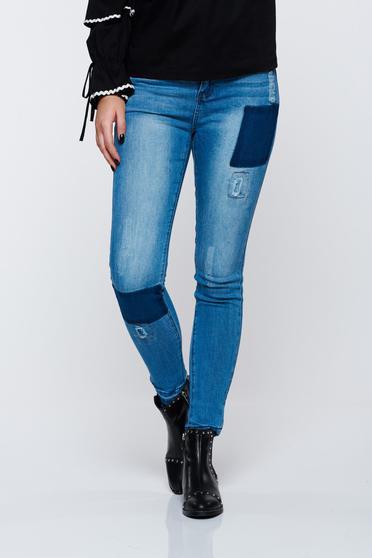 Top Secret blue jeans cotton with pockets